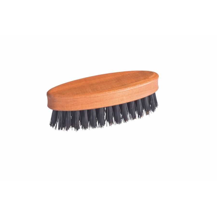 Wooden Beard Brush, Pearwood, Oval