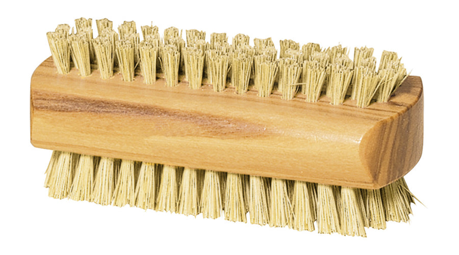 Wooden Nailbrush, Olive Wood & Bristle