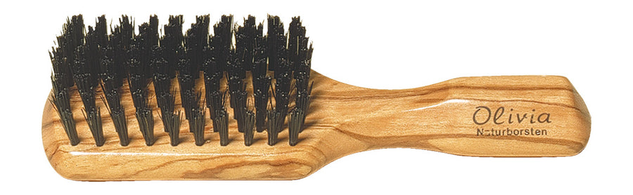 Men's Hairbrush with Olive Wood & Bristle