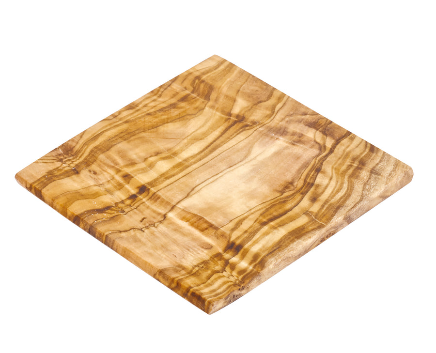 Wooden Coaster Set Of 6, Olive Wood