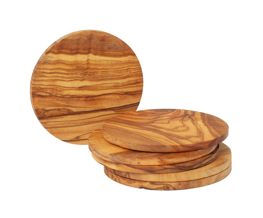 Coaster Set - Olive Wood