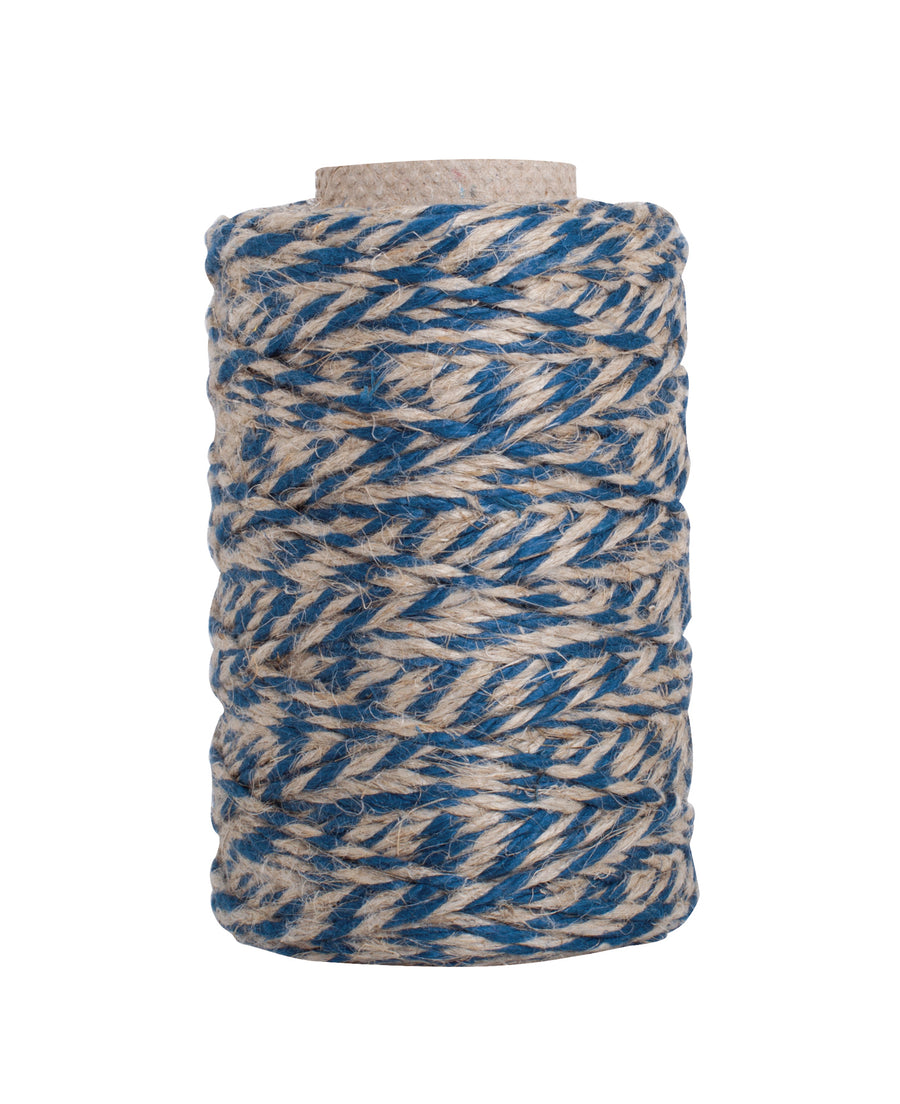 Kitchen Twine - Blue & Natural, 55m Roll