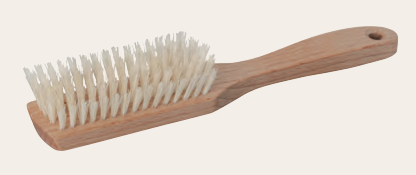 Hairbrush for Sensitive Scalp, Beechwood & Soft Light Bristle