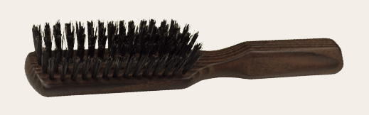 Thermowood Hairbrush With Stiff Boar Bristle 20.5Cm