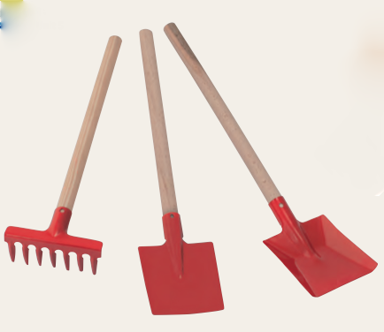 Children's Gardening Set - Red