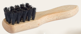 Small Polish Applicator Brush, Black Bristle