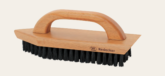 Shoe Cleaning Brush with Beechwood Handle