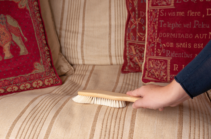 Wooden Cushion Brush