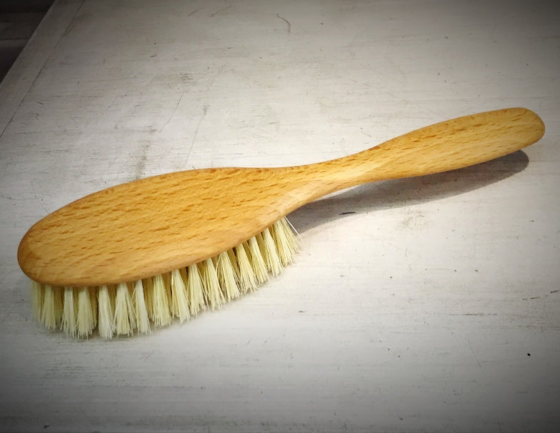 Wooden Hairbrush, Vegan, Tampico Fibre