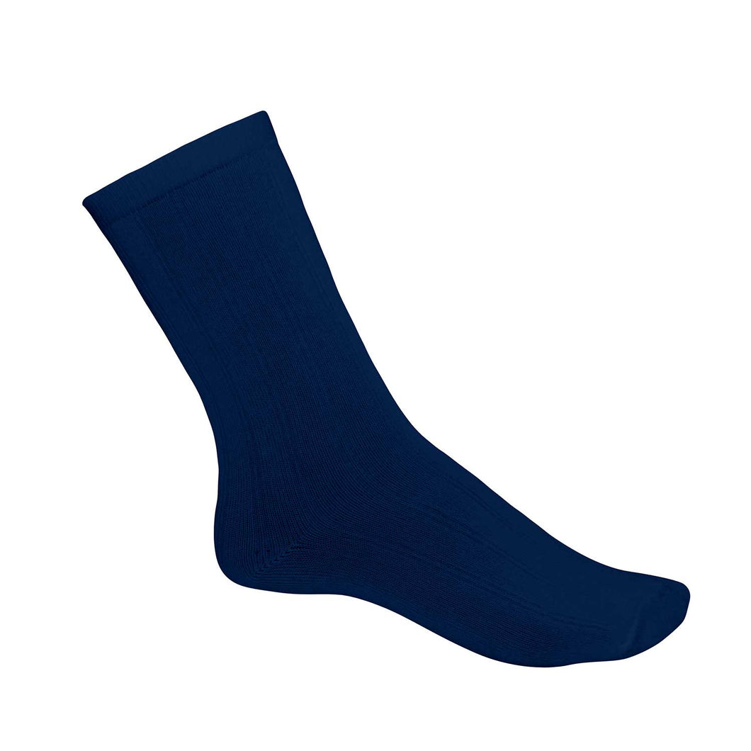 Crew Sock Thin-Navy