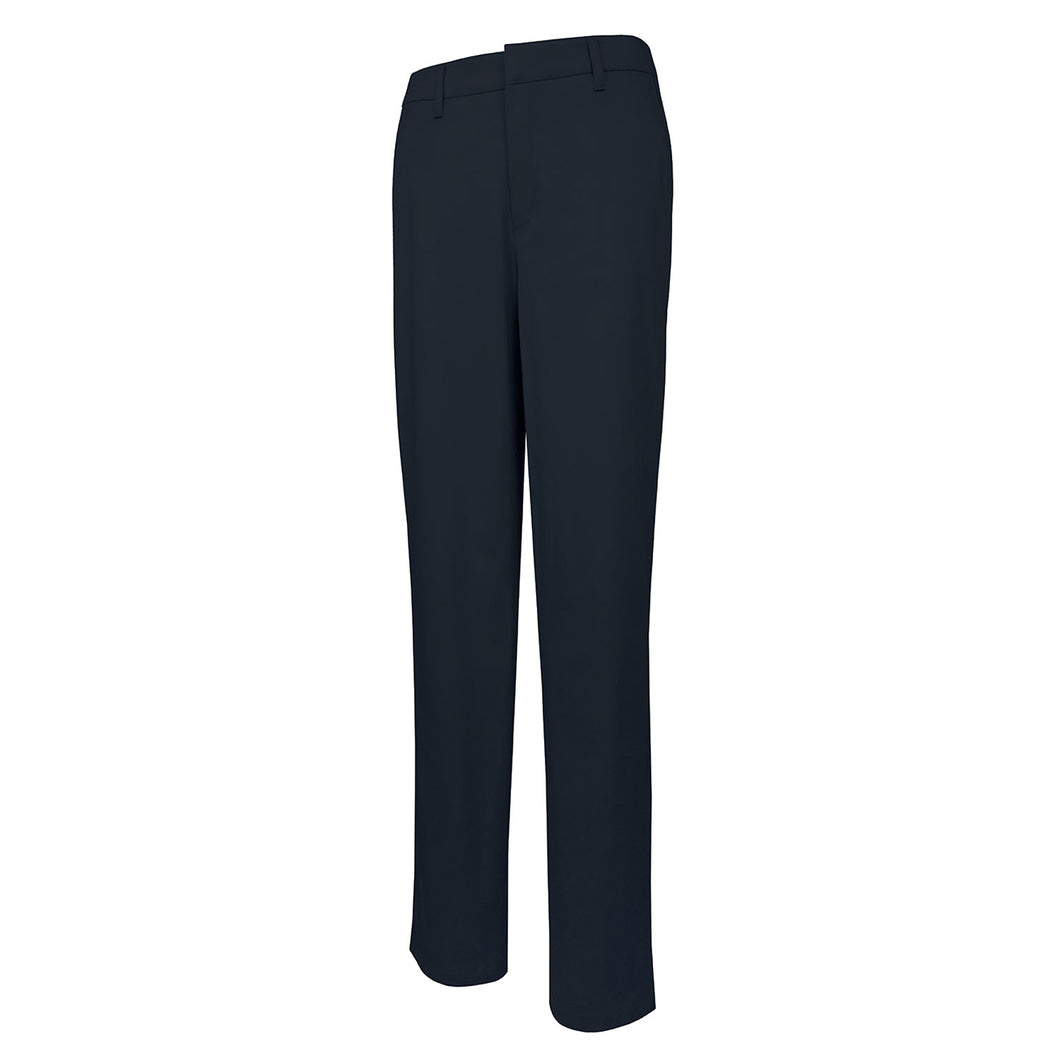 Girls Flat Front Pant-Navy