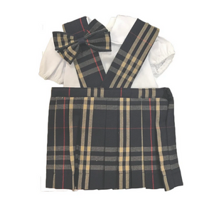 American Girl Doll Dress Plaid-1C