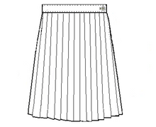 Load image into Gallery viewer, Knife Pleat Plaid Skirt-Plaid 45