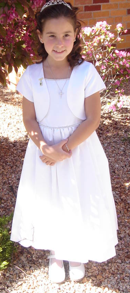 American Girl Doll Dress-First Communion