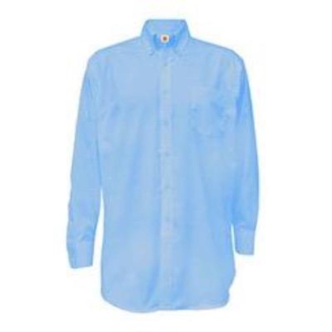 Boys Long Sleeve Oxford-Lt Blue