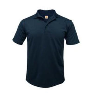 STL Unisex Short Sleeve Dri-Fit Polo-Navy