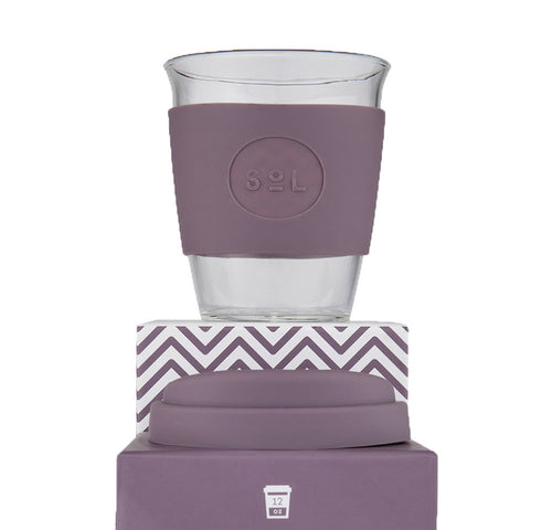 FREE GIFT  with qualifying purchase- Sol Reusable Coffee Cup -Mystic Mauve