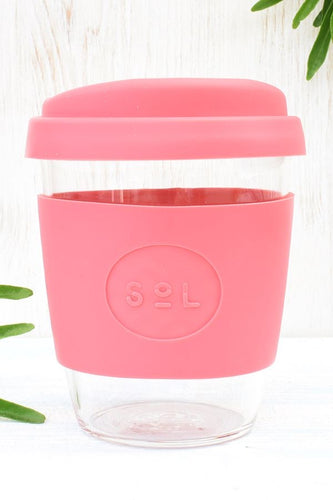 FREE GIFT with qualifying purchase- Sol Reusable Coffee Cup -Radiant Rose