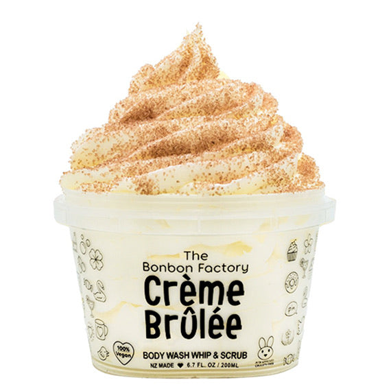 Creme Brulee Body Wash Mousse