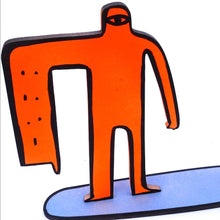 Load image into Gallery viewer, Cyclops Surfer - Orange and Blue
