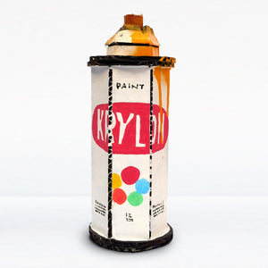 Krylon with Yellow Drips