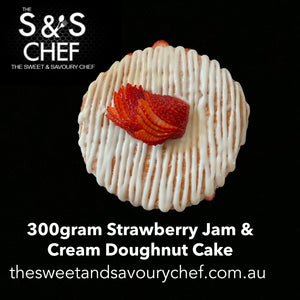 Strawberry Jam & Cream Cake