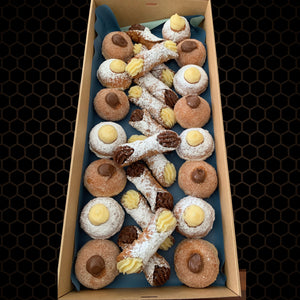 Duo King Cannoli & Doughnut  Box