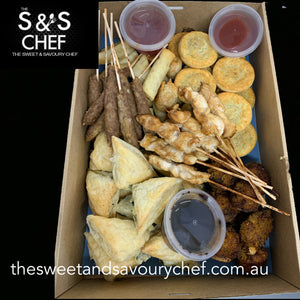 Mixed Hot Finger Food Box
