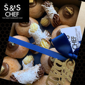 Father's Day Gift Box - 8 Doughnuts & 6 Cannoli Mix