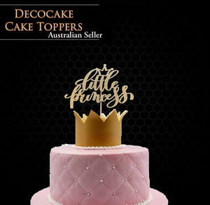 Little Princess Cake Topper