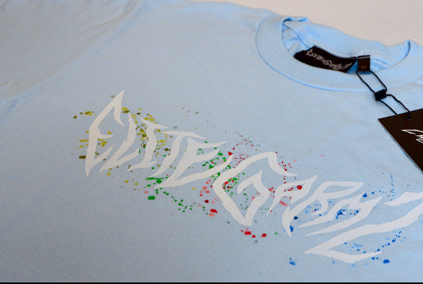 EliteGarmz Blue Pastel T LIMITED EDITION - Elitegarmz