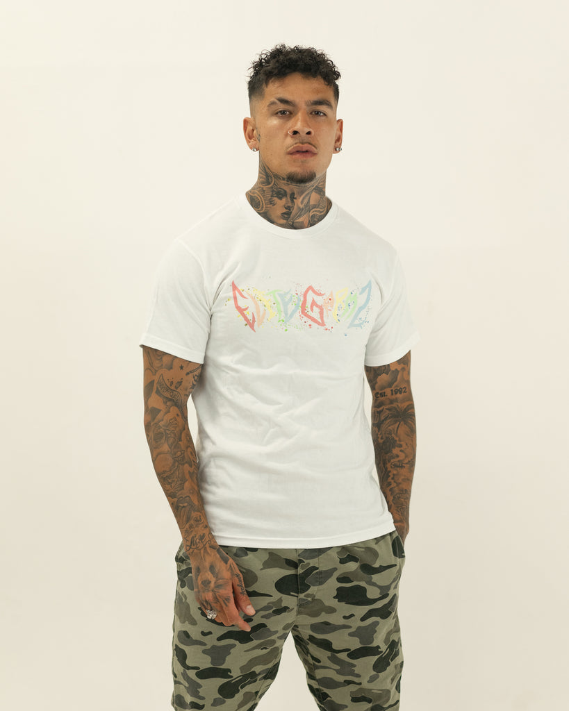 EliteGarmz White Pastel T - Elitegarmz