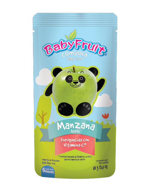 Compota BabyFruit Manzana Empaque Flexible x 113 g