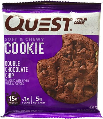 Galleta de Proteína QUEST, Double Chocolate Chip x 59 g