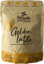 GOLDEN LATTE (Leche Dorada) Naturela x 100 g.