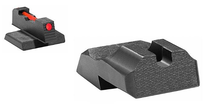 Warren Tactical and Sevigny Competition Sight Sets for 1911 pistols - Novak Cut