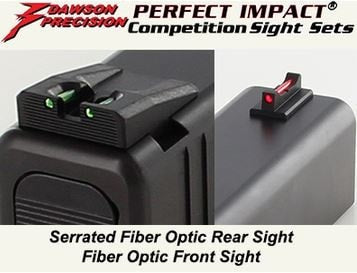 Dawson Fixed Competition Sight Set