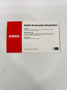 KN95 Face Mask | FDA & CE Certificates | 10 Masks per box | 1 Box Minimum Order