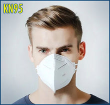 Load image into Gallery viewer, KN95 Face Mask | FDA & CE Certificates | 10 Masks per box | 1 Box Minimum Order