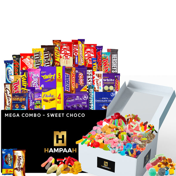 Giant Sweets and Chocolate Hamper