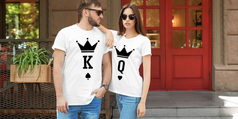 Collection T-shirts Couple Insta-Couple