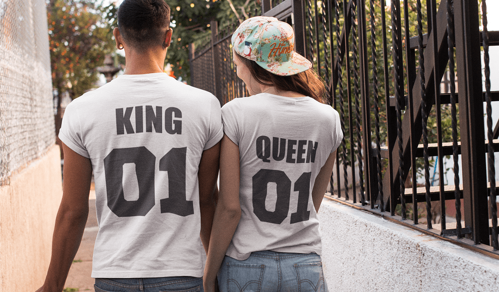 Vetement Couple King ans Queen