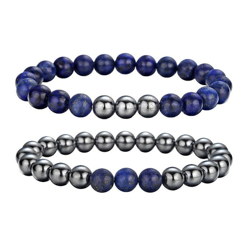 Bracelet Couple Lapis Lazuli Insta-Couple
