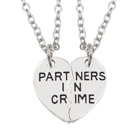 Collier Couple Gangster Insta Couple la Boutique de tous les Couples