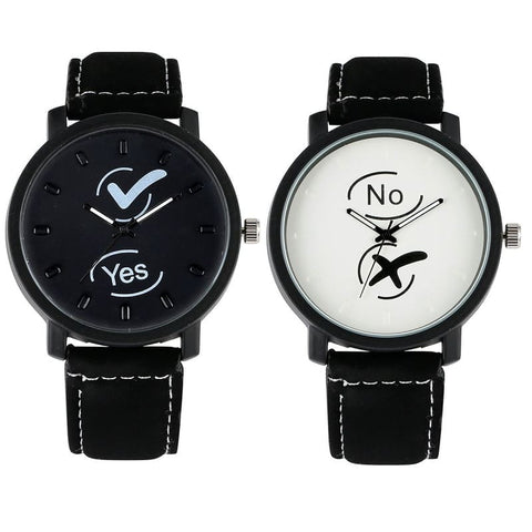 Montre Couple Yes & No Insta-Couple
