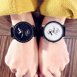 Montre Couple Yes & No Insta-Couple au poignet