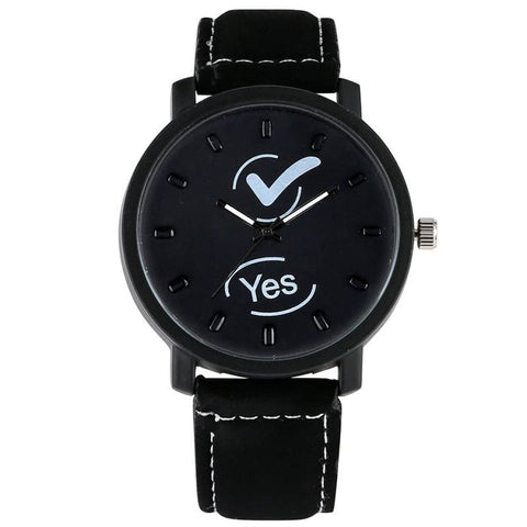 Montre Couple Yes & No Insta-Couple pour Homme