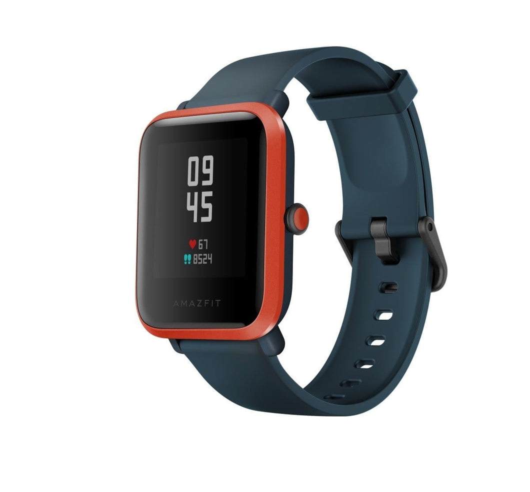 Amazfit Bip S Smart Watch with Built -in GPS, Long Battery Life smartwatch Amazfit India Red Orange