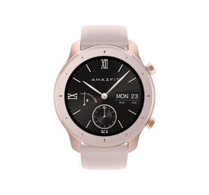 Amazfit GTR 42mm with 26 PPI AMOLED Display smartwatch amazfit.india Cherry Blossom Pink
