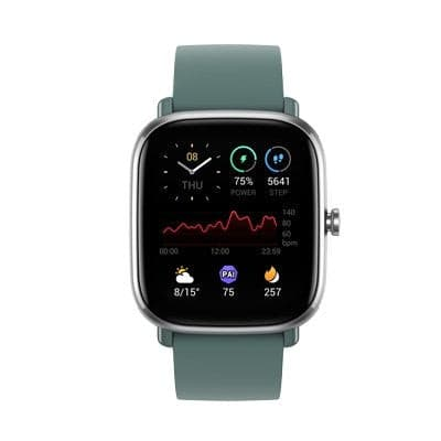 Amazfit GTS 2 Mini with GPS, SpO2 Blood-oxygen Measurement I 70+ Sports Modes - Amazfit India